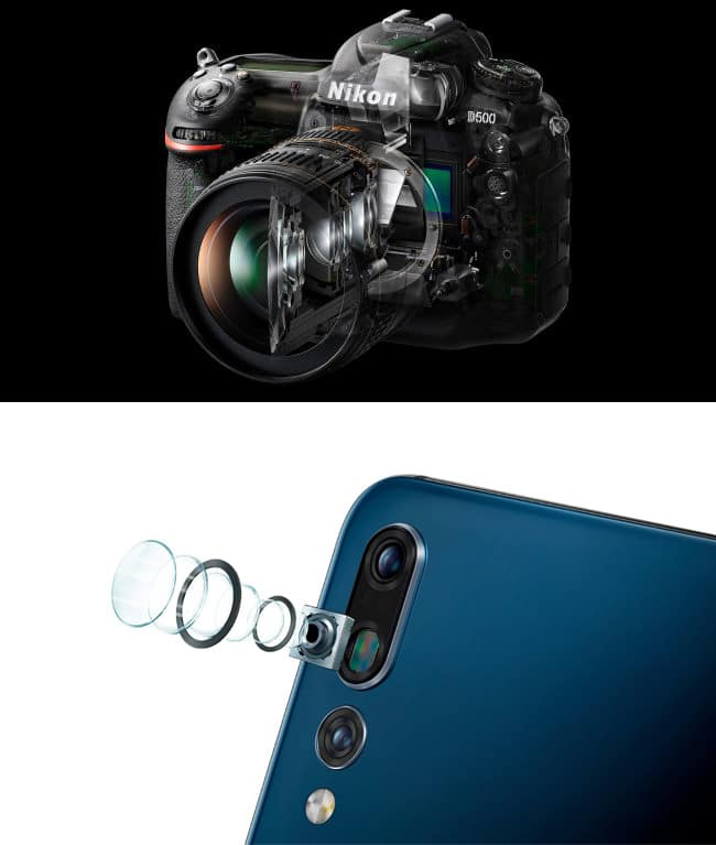 dslr mirrorless vs smartphone