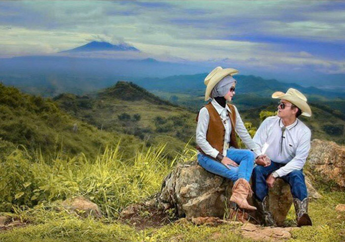 prewedding di indiana camp